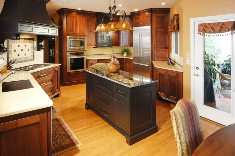 Gallery sam bradley homes for Custom kitchen remodel