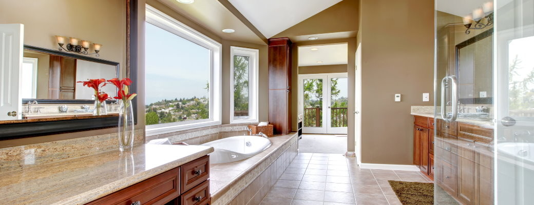 Welcome to sam bradley custom homes custom homes for New home bathrooms